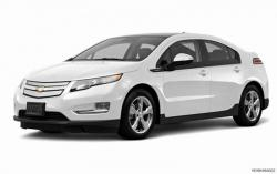CHEVROLET VOLT white