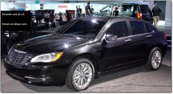 CHRYSLER 200 black