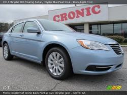 CHRYSLER 200 blue
