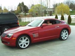 CHRYSLER CROSSFIRE AUTOMATIC red