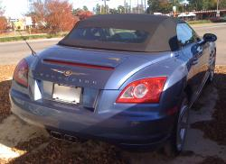 CHRYSLER CROSSFIRE blue