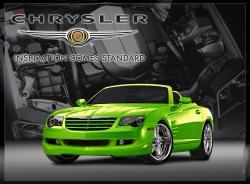 CHRYSLER CROSSFIRE green