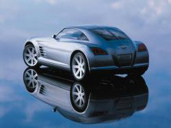 CHRYSLER CROSSFIRE silver