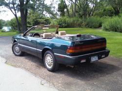 CHRYSLER LEBARON green