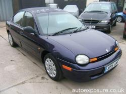 CHRYSLER NEON blue