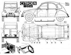 CITROEN 2 CV 6 brown