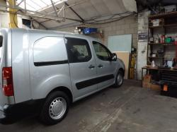 CITROEN BERLINGO green