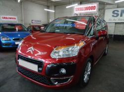 CITROEN C3 PICASSO red