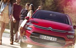 CITROEN C4 PICASSO red