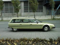 CITROEN CX green