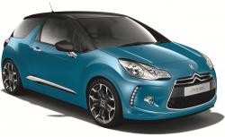 CITROEN DS3 green