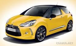 CITROEN DS3 red