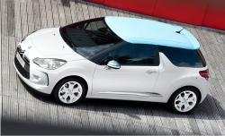 CITROEN DS3 white