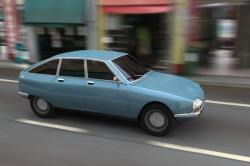 CITROEN GSA blue