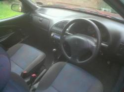 CITROEN SAXO 1.0 interior