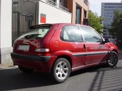 CITROEN SAXO red