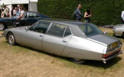 CITROEN SM INJECTION silver