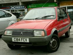 CITROEN VISA red