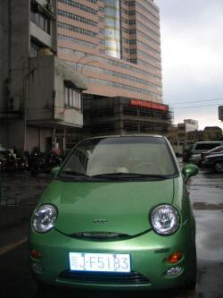 DAEWOO MATIZ green