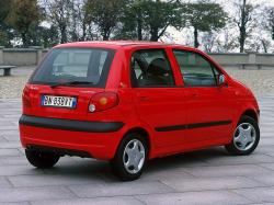 DAEWOO MATIZ red