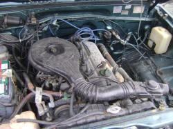 DAIHATSU FEROZA engine
