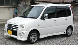 DAIHATSU MOVE RS green