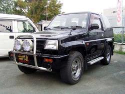 DAIHATSU ROCKY black