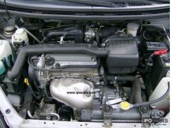 DAIHATSU YRV engine