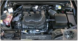 DODGE AVENGER engine