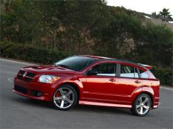 DODGE CALIBER red
