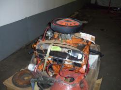 DODGE CHARGER 440 engine