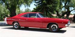DODGE CHARGER 440 red