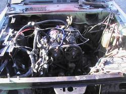 DODGE COLT engine