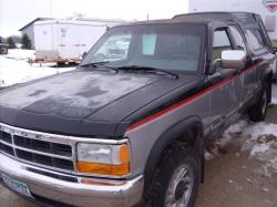DODGE DAKOTA 3.9 silver
