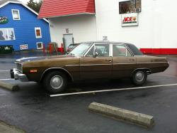 DODGE DART brown