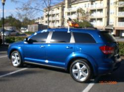 DODGE JOURNEY blue