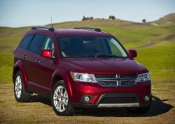DODGE JOURNEY red