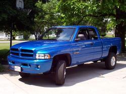 DODGE RAM blue