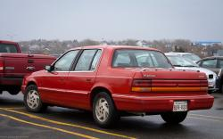 DODGE SPIRIT red