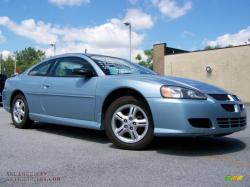 DODGE STRATUS COUPE blue
