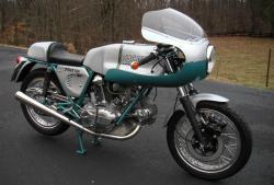 DUCATI 750 SS blue