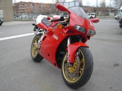 DUCATI 996 white