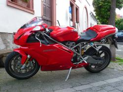 DUCATI 999 red