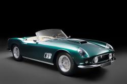 FERRARI 250 GT CALIFORNIA green