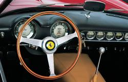FERRARI 250 GT CALIFORNIA interior