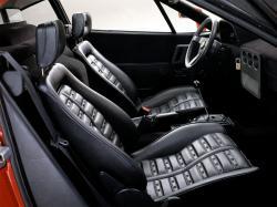 FERRARI 288 GTO EVOLUZIONE interior