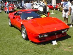 FERRARI 288 GTO red