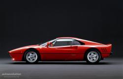 FERRARI 288 GTO silver