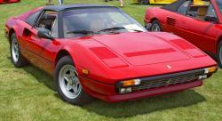 FERRARI 308 GT red
