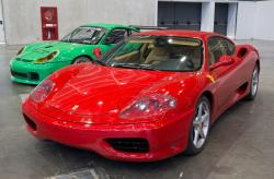 VALENCIA, SPAIN - DECEMBER 5: A 2000 Ferrari 360 Modena at the 2011 Valencia Car Show on December 5, 2011 in Valencia, Spain. by RobWilson